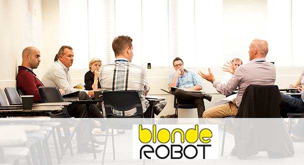 Blonde Robot