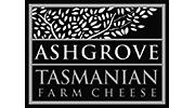 Ashgrove Cheese Logo White Black