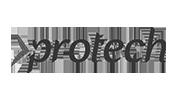 Protech Group Logo Black White