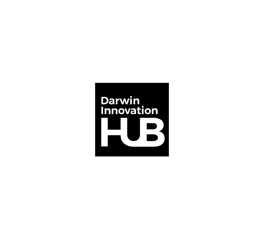 Darwin Innovation Hub logo - a funding partner